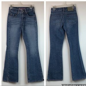 Vtg. Silver Jeans: Western mid rise bootcut flare